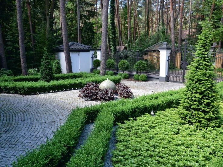 Elegancki i stylowy - geometryczny leśny ogród