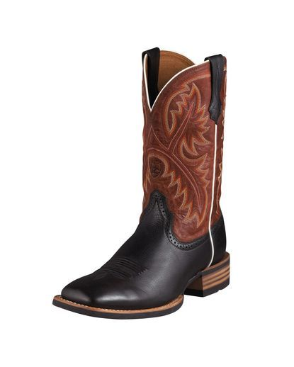 Ariat(r) Men's Quickdraw Boots A true horseman's boot, the Quickdraw is a  classic that performs in the toughest conditions.