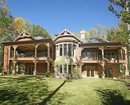 Best 25 mountain house plans ideas on pinterest for Custom home floor plans with basement