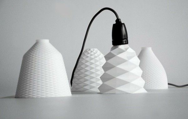 Designer Lights From The 3d Printer Home Decors Ideas 2020 Lighting Design 3d Printer Design