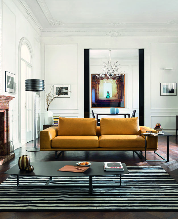 New from the 2014 2015 collection the very modern tempo sofa natuzzi design leather - Natuzzi vancouver ...