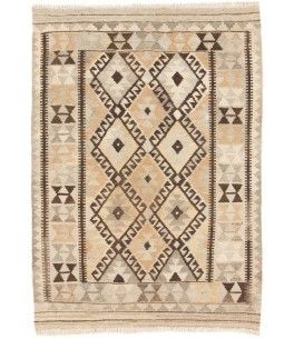 Schön Kelim Afghan Teppich Dieser Schöne Kelim Afghan Teppich 00013485 Stammt Aus  Afghanistan Und Hat Die Farbe Beige, Braun. Der Teppich Ist Aus  Hochwertigem ...