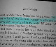 the outsiders close reading paper Ponyboy can count on his brothers and on his friends but no on much else besides trouble with the socs, a vicious gang of rich kids whose idead oa good time is beating up greasers like ponyboy at least he knows what to expect--until the night someone takes things too far.