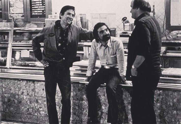 Robert De Niro, Martin Scorsese and Peter Boyle | Rare, weird & awesome celebrity photos