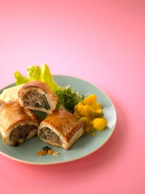 sausage rolls   Jamie Oliver   My hubby would love me forever if I made these for him. Reminds him of his childhood in New Zealand.