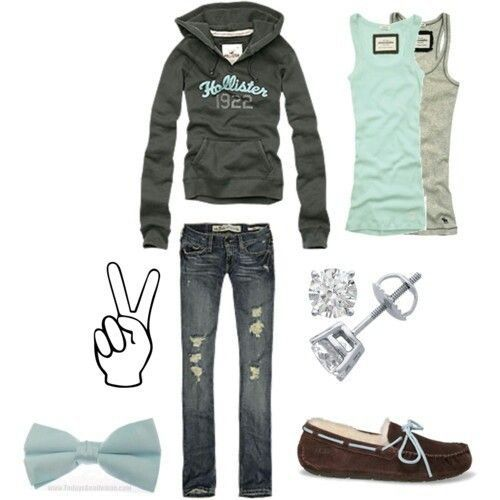 hollister outfit.♡