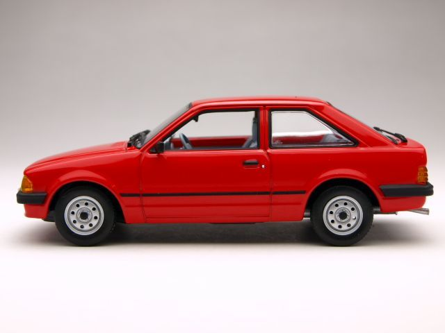 Behind the Wheel of a Red Ford Escort - Pt One by David Steunenberg