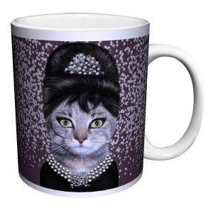 Cat Breakfast Novelty Coffee Mug