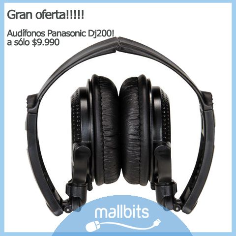 Audífonos Panasonic Dj 200
