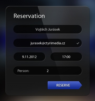 1000+ images about reservation ui on Pinterest Dark, A - reservation forms in pdf