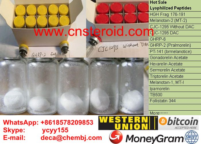 HGH 176-191 HGH Fragment 176-191 hgh 176-191 reddit hgh 176-191 solution hgh 176-191 dosage hgh 176-191 side effects hgh 176-191 cycle hgh fragment peptide 176-191  hgh fragment 176-191 dosage hgh fragment 176-191 review ①. Kinds of Colors of Flip off Caps②. 1mg/vial, 2mg/vial , 5mg/vial, 10mg/vial , or no vials .③. Peptides Blend up to Your Demand. such as CJC GHRP2 Combo, CJC Ipamorelin Combo......  E-mail:  deca@chembj.com Mob:     +8618578209853 Skype:  ycyy155