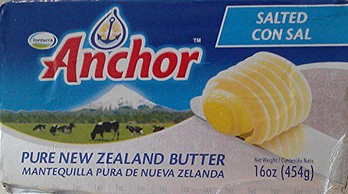 Anchor Butter New Zealand, Salted.