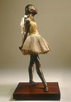 Degas, Little Dancer... she is my favorite thing at the MFA and I spent a whole hour standing there just looking at her... I will have a mini one in my house SOMEWHERE