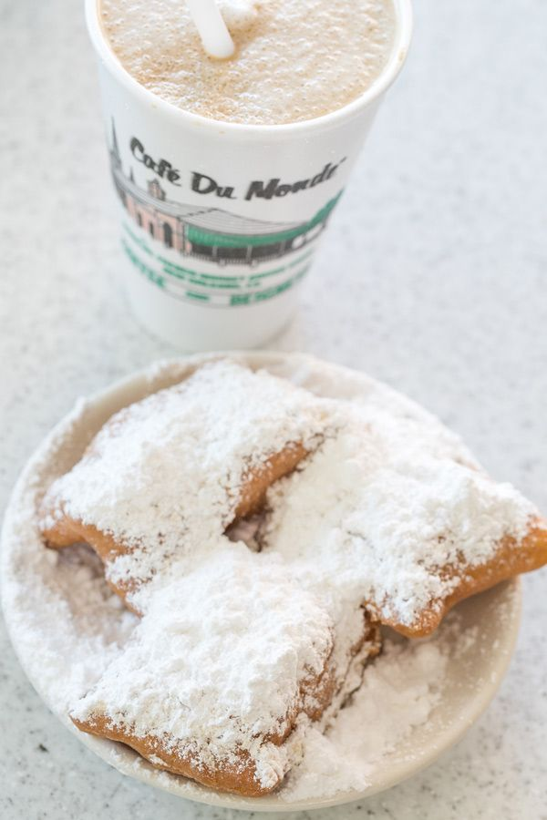 Cafe Du Monde - New Orleans Travel Diaries. These are so good. We had them wen we went on our cruise
