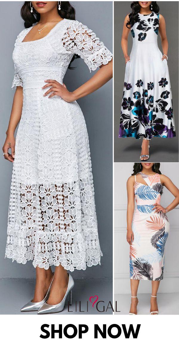 Modest Spring Summer Dresses For Women 2019 3