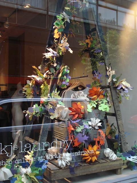Suzi Mclaughlin Designs: KJ's Laundry, 74 Marylebone Lane.