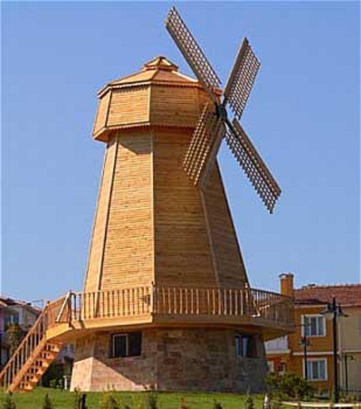 The Windmill, Şelale Park, Eskişehir, Turkey