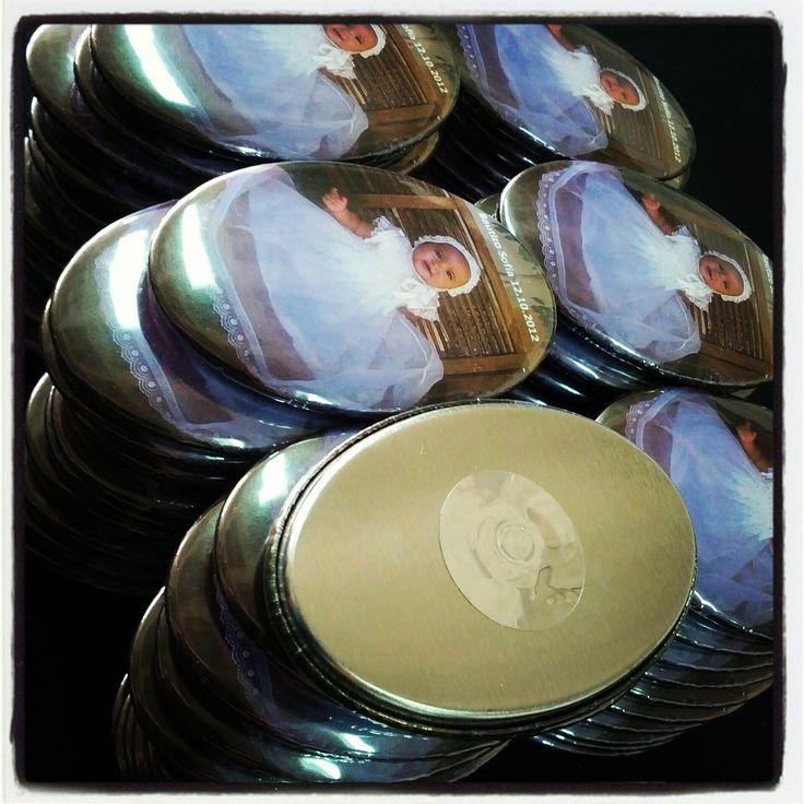 Imanes Personalizados Para #Bautizos en Chapea.com