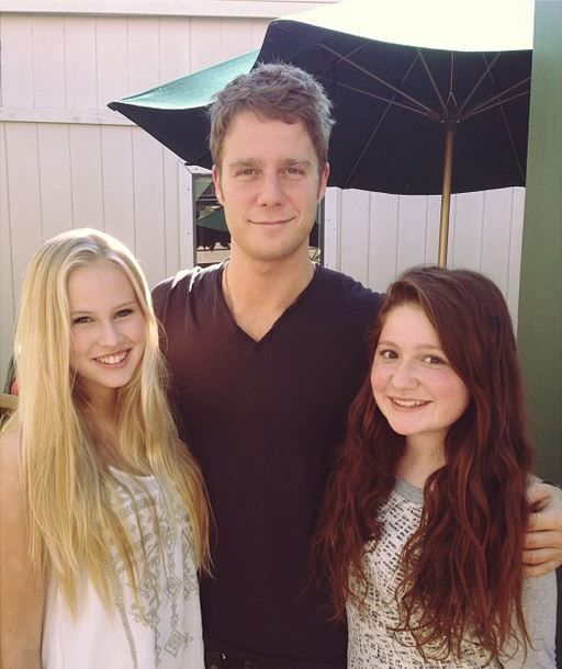 Emma Kenney, Jake McDorman and Danika Yarosh