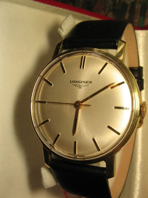Churchill Clocks -- Antique Clocks, Midhurst, West Sussex: Item 2BHFP. VINTAGE SWISS LONGINES MECHANICAL WATCH