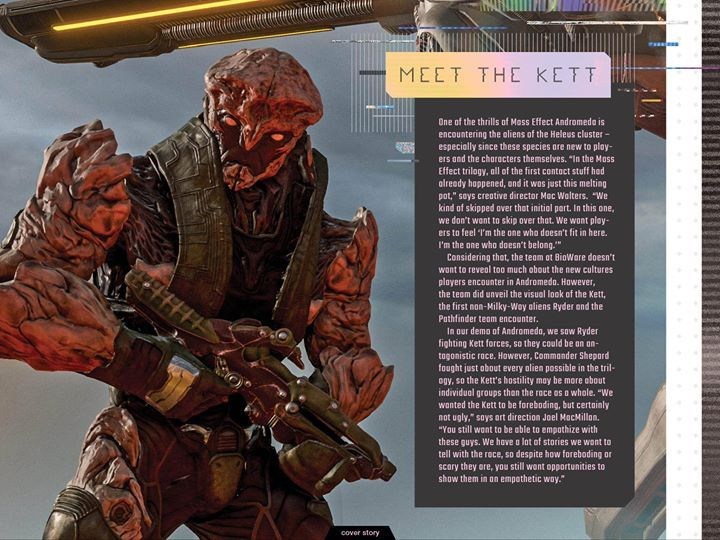Meet the Kett! A new race in the upcoming Mass Effect: Andromeda  #masseffect #gaming