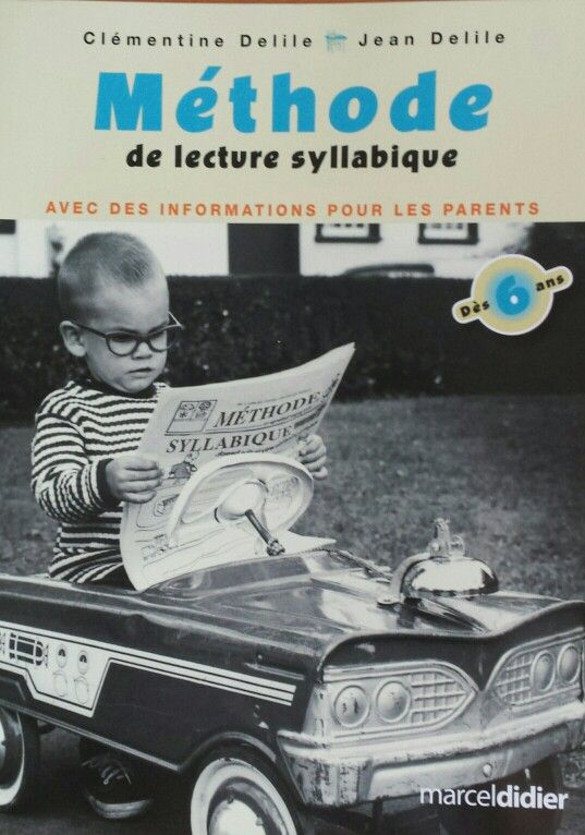 Méthode de lecture syllabique pour enfants des 6ans