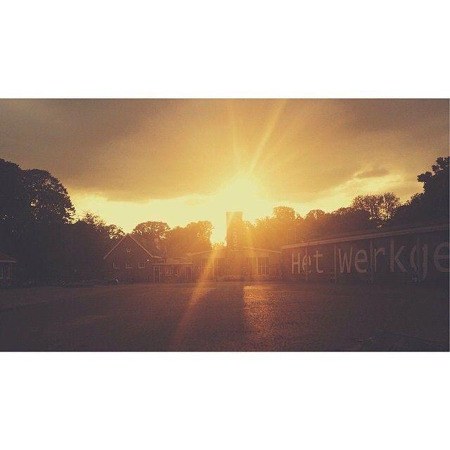 #Mtricht sunset at Tapijn, Maastricht.