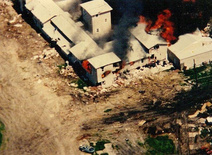 Waco siege in Texas (1993)