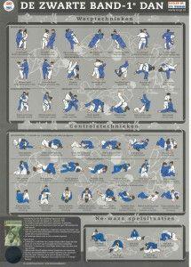 Zwarte-band /  Judo Technieken