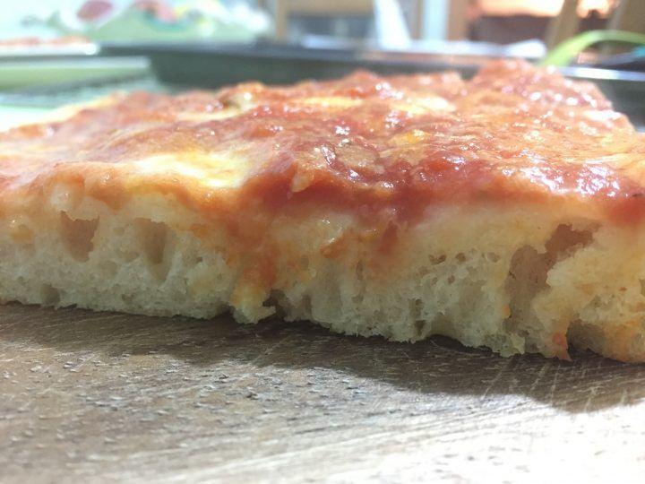 Pizza idratata: il gusto della tradizione