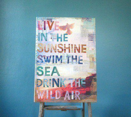 """swim the sea"""