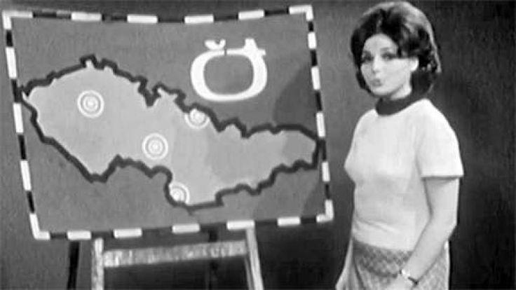 Vysielanie Československej televízie
