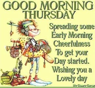 Good Morning Thursday quotes quote days of the week thursday thursday quotes happy thursday