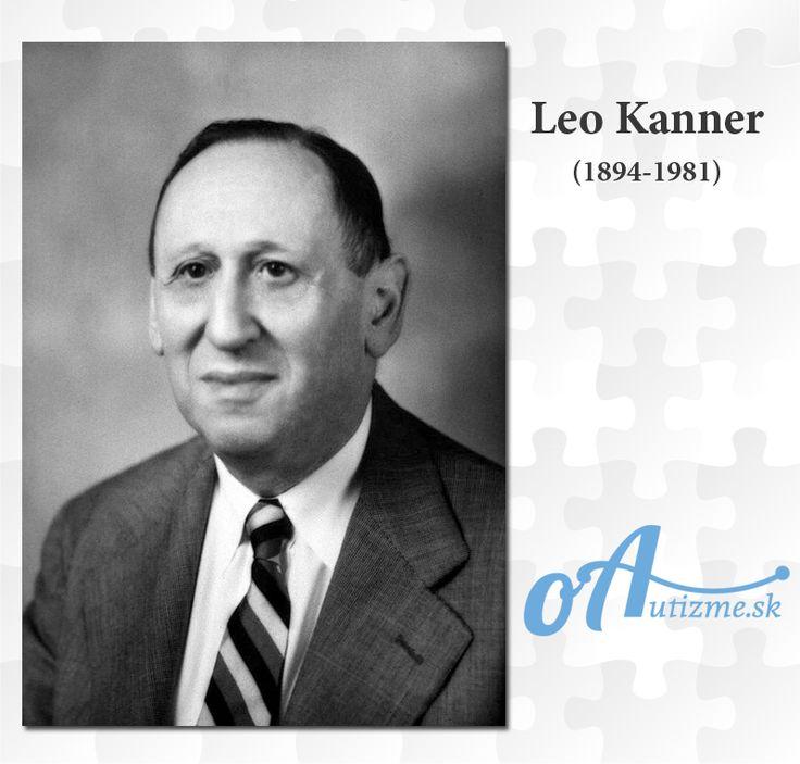 Leo Kanner  #autizmus #autism #oAutizme
