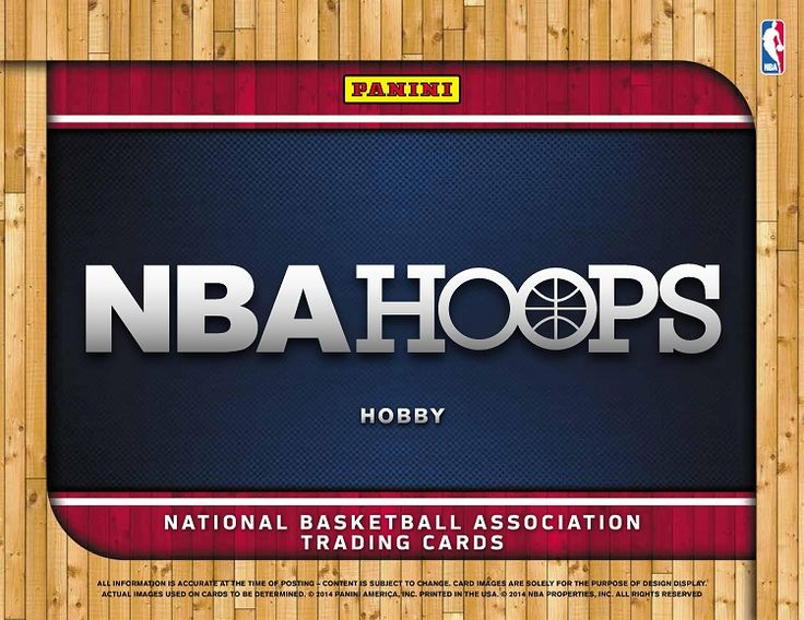 2014-15 Panini Hoops Basketball Hobby Box