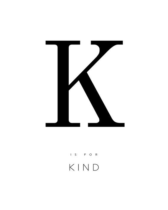 graphic regarding Printable Poster Letters identify LETTER K POSTER, letter k print, form, alphabet poster