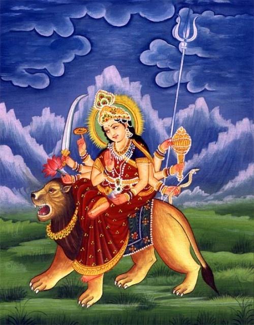 Durga spiritual force