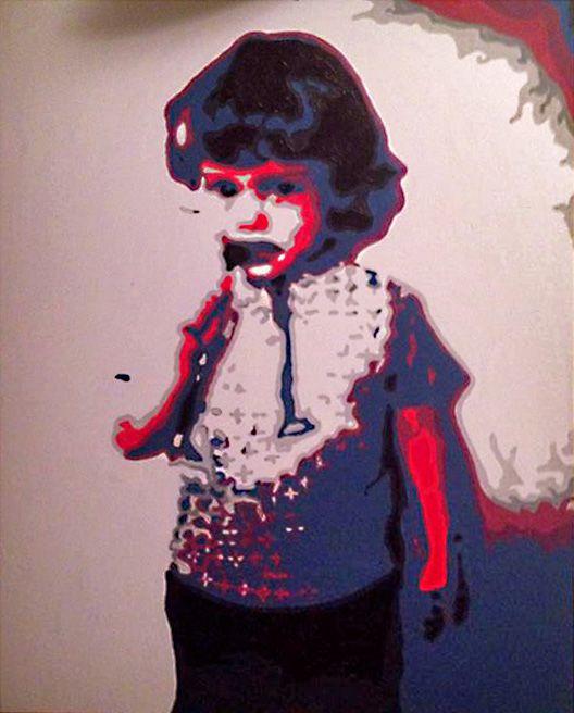 Margau, artiste LSDM 1973 30 x 40   // 840 $  http://lasalledemontre.com/margau-1/1973