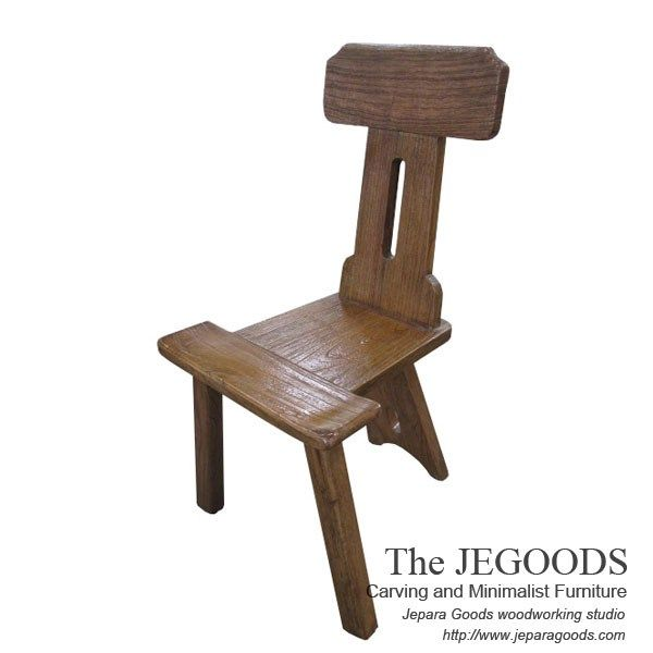 Unique Rustic Chair by Jegoods Woodworking Studio Furniture Indonesia.