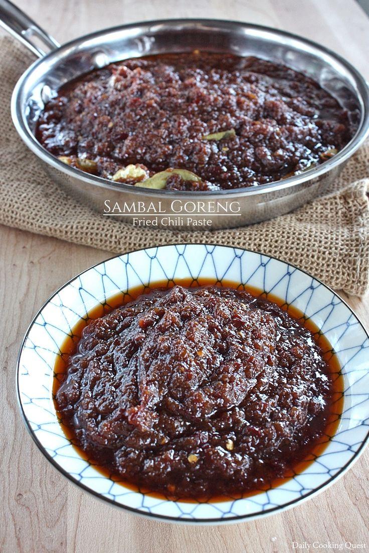 Sambal Goreng - Fried Chili Paste