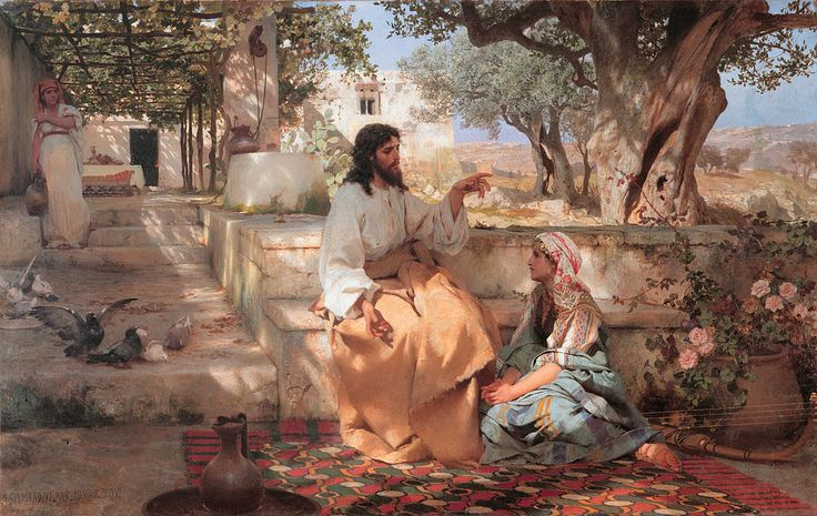 Semiradsky Christ Martha Maria - Henryk Siemiradzki - Wikipedia, the free encyclopedia