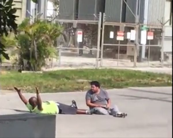 [Watch] Charles Kinsey Shot: Unarmed Black Man With Arms Up Shot - http://www.morningledger.com/watch-charles-kinsey-shot-unarmed-black-man-with-arms-up-shot/1386243/