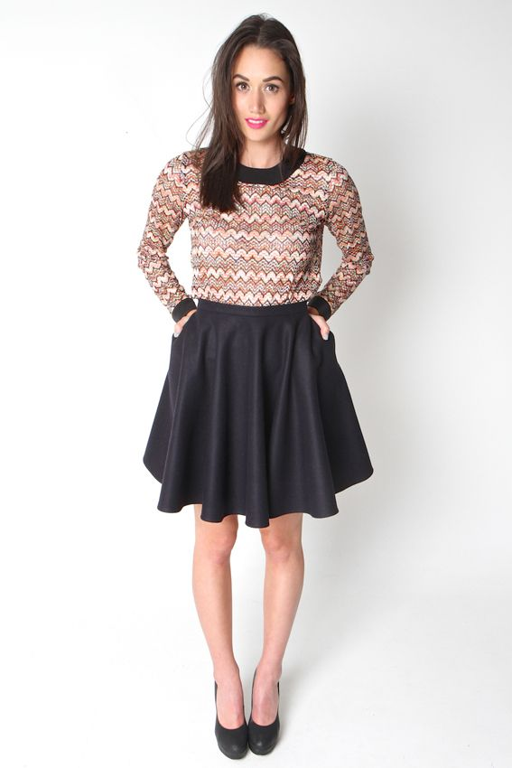 DATE NIGHT SKIRT | Amber Whitecliffe