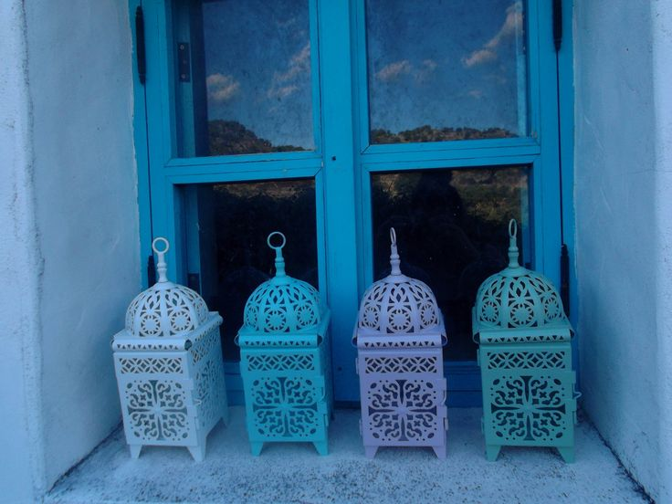 METAL MOROCCAN LANTERN outdoors indoors party by MyMedKitchen, $28.00