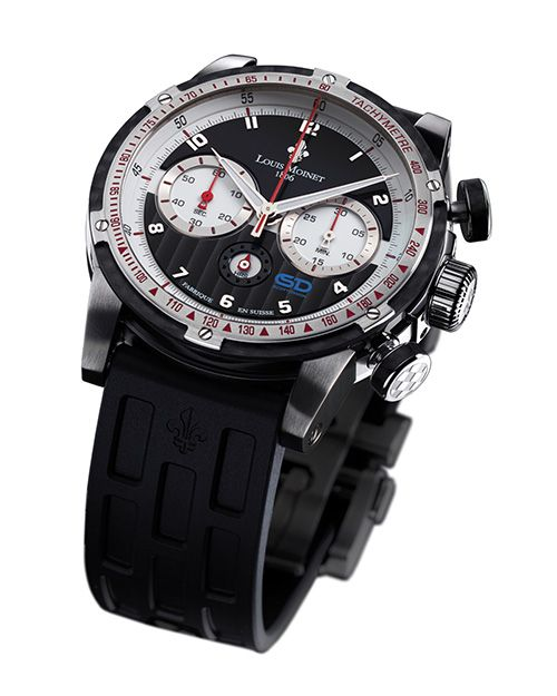 Celebrating a motorsport legend Louis Moinet the Scott Dixon (PR/Pics http://watchmobile7.com/data/News/2013/05/130524-louis_moinet-scott_dixon.html) (1/3)