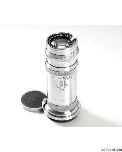 Zeiss, Carl Jena: 180mm (18cm) f6.3 Tele-Tessar K (Contax, chrome) camera