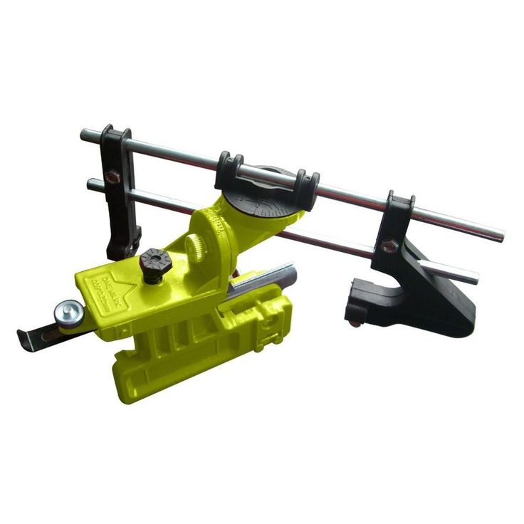 Timber Tuff Manual Bar Mount Chainsaw Chain Sharpener with accommodating 6 in. and 8 in. Chainsaw Files