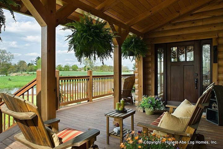 "Perfect porch for your ""Mountain Home!!"""