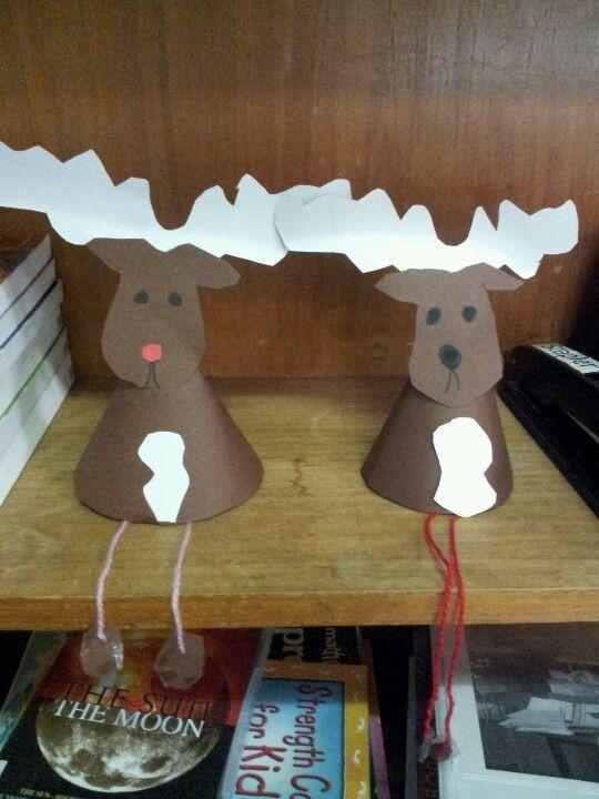 Reindeer craft. Cute!