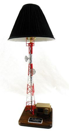 Self Support Tower Lamp Gift for Telecommunications industries including cellular, wireless and radio. Two sizes available! Come visit our new department for more tower climber gifts!